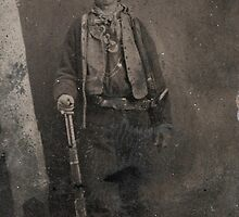 Vintage Billy the Kid Old West Outlaw by pdgraphics