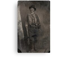 Vintage Billy the Kid Old West Outlaw Canvas Print