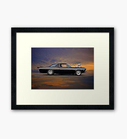 1967 Chevelle 'Super Super' Sport Framed Print