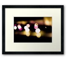 Last Lights No. 1 Framed Print