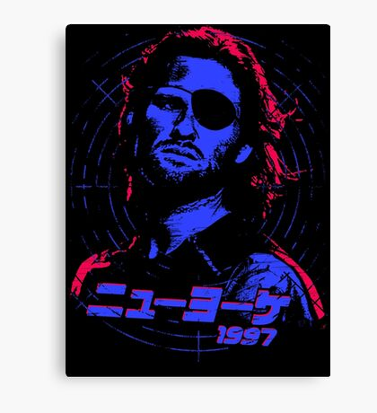 Escape from New York 1997 Japanese Canvas Print