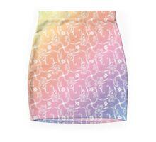 Seamless floral pattern Mini Skirt