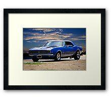 1967 Chevrolet Camaro RS327 Framed Print