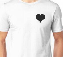 Broken Pixel - Hollow Pixel Heart Unisex T-Shirt