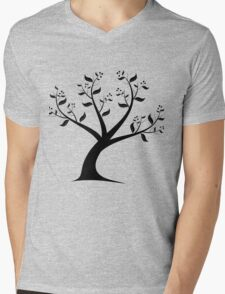 Art Tree Mens V-Neck T-Shirt