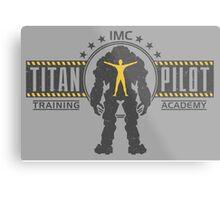 Titan Pilot Training Academy Metal Print