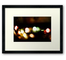 Last Lights No. 4 Framed Print