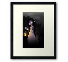 Graveyard Pony Framed Print
