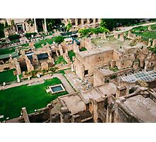 Forum Romanum From Above Photographic Print