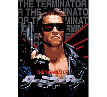The Terminator (Japanese) Photographic Print