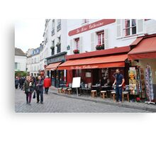 Place du Tertre, Paris Canvas Print