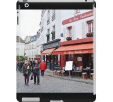 Place du Tertre, Paris iPad Case/Skin