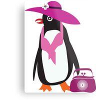 lady penguin Metal Print