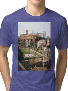 Forum Romanum Vertical Tri-blend T-Shirt
