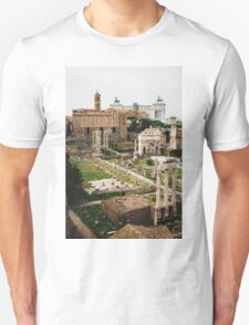 Forum Romanum Vertical Unisex T-Shirt