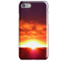 Layered Sunset iPhone Case/Skin