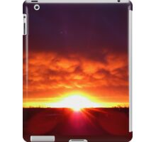 Layered Sunset iPad Case/Skin