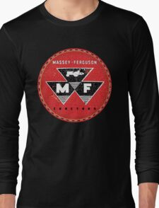 Vintage Massey Ferguson Tractors and Equipment Long Sleeve T-Shirt