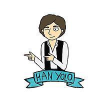 Han Yolo Photographic Print
