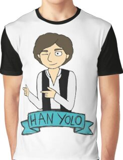 Han Yolo Graphic T-Shirt