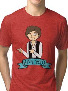 Han Yolo Tri-blend T-Shirt