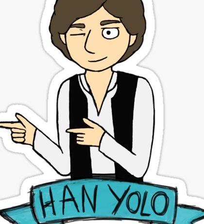 Han Yolo Sticker