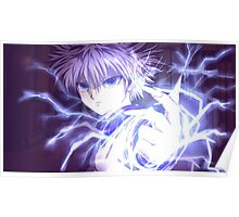 killua epic hunter x hunter Poster