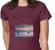 Barmouth Bridge at Sunset  Womens Fitted T-Shirt