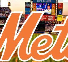 New York Mets Stadium Logo Sticker