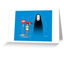 My Lonely Neighbor Greeting Card