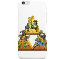 The Legend Of Zelda: Generations of Link iPhone Case/Skin