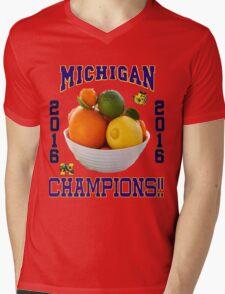 Michigan! Bowl CHAMPIONS AGAIN!!!! Mens V-Neck T-Shirt