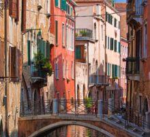 Italy. Venice. Reflection. Sticker