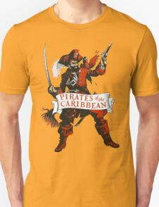 Pirates of the Caribbean Attraction Poster T-Shirt