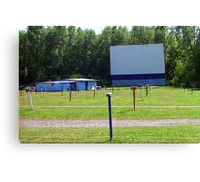 Drive-In Theater Canvas Print