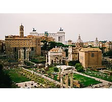 Forum Romanum Photographic Print