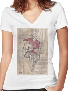 Serenade Women's Fitted V-Neck T-Shirt