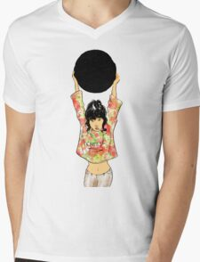 The Black Mirror Mens V-Neck T-Shirt