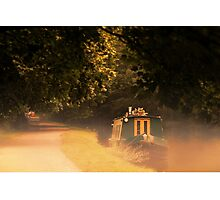 Home on the Canal Photographic Print