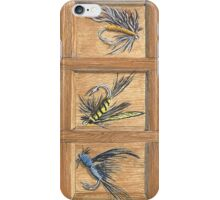 """Fly Fishing"" by Jerry ""Doc"" Watson iPhone Case/Skin"