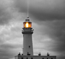 Golden Beam - Flamborough Lighthouse Sticker