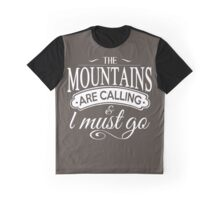The Mountains. Graphic T-Shirt