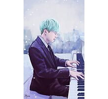 Piano Man Yoongi Photographic Print
