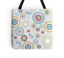 Multi colored Circles Tote Bag