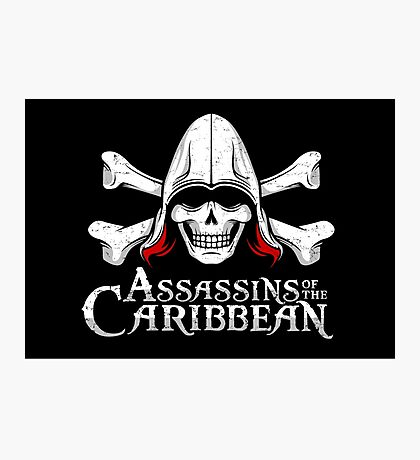 Assassins of the Caribbean Photographic Print