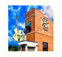 Sun Studio - Historic Memphis Tennessee Art Print