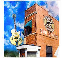Sun Studio - Historic Memphis Tennessee Poster