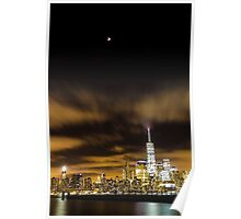 NYC // Super Blood Moon Poster