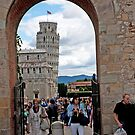 Tower Through The Stonegate by phil decocco