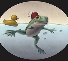 Frog and Duck by Mark Elliott